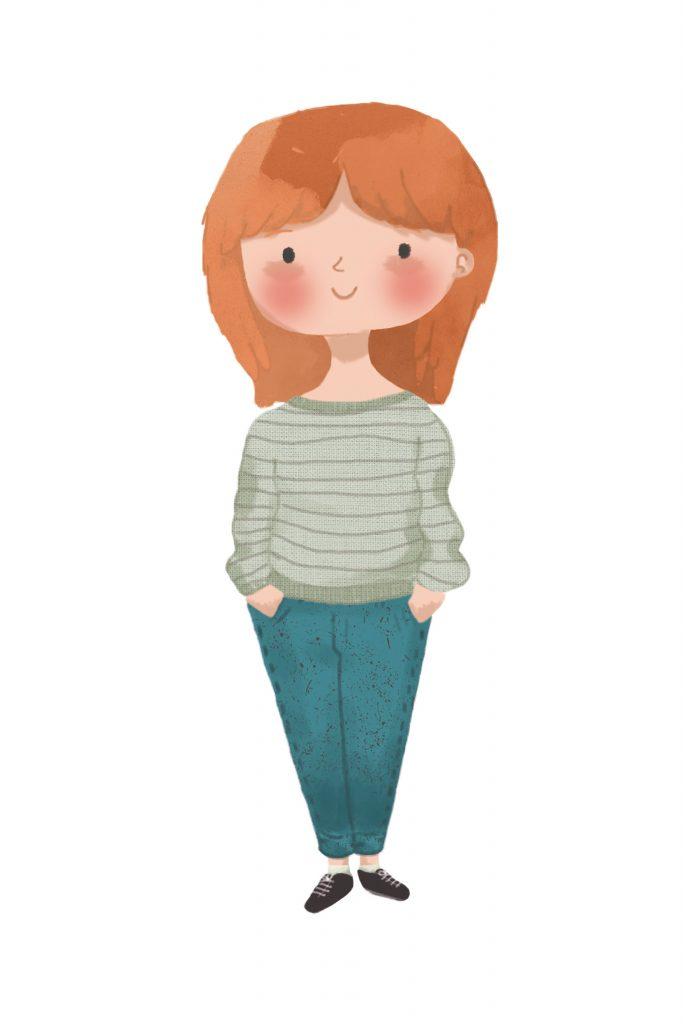 Monica Galan self portrait