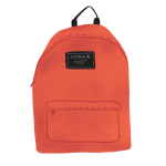 Illustration of a red backpack.